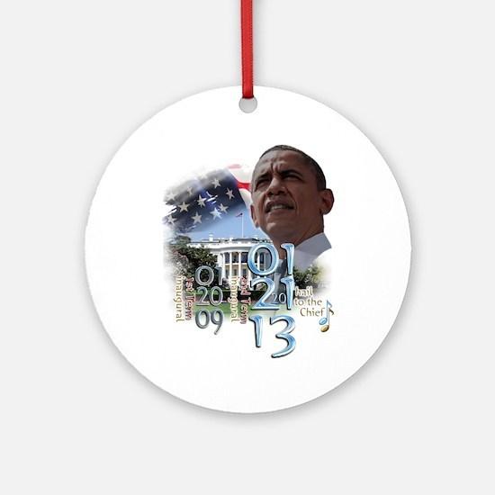 Obama's 2 Terms: Ornament (Round)