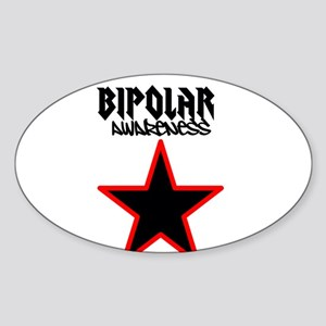 Bipolar awareness Sticker (Oval)