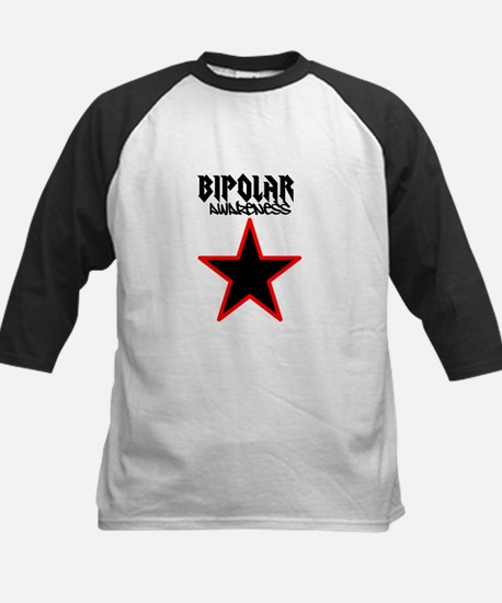 Bipolar awareness Kids Baseball Jersey