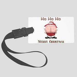 Ho Ho Ho Santas Mooning Merry Christmas Large Lugg