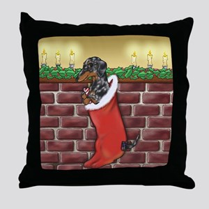 Dapple Christmas Throw Pillow