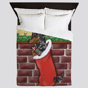 Dapple Christmas Queen Duvet