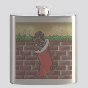 Dapple Christmas Flask