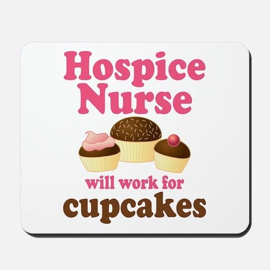 Hospice Nurse Funny Mousepad