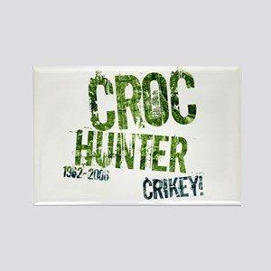 Crikey Crocodile Hunter Rectangle Magnet