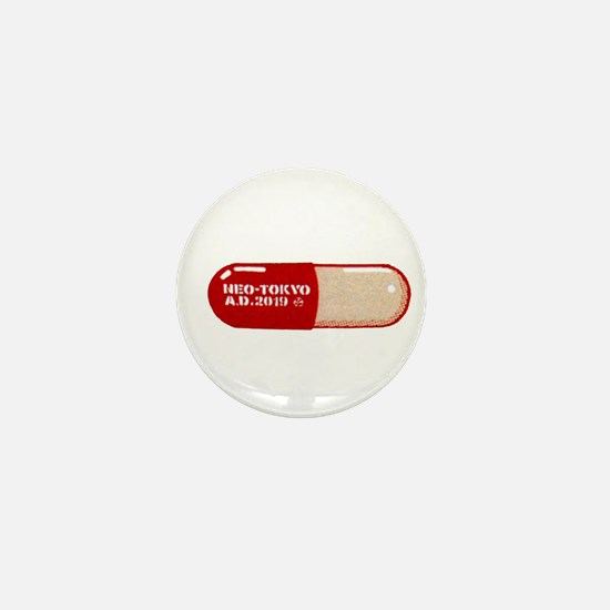 Akira Mini Button