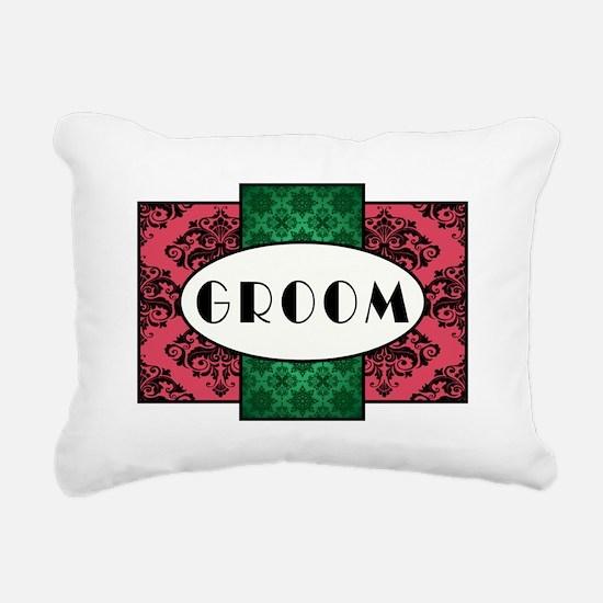 GROOM Rectangular Canvas Pillow