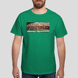 Hilo Lei Day Festival 2013 Dark T-Shirt