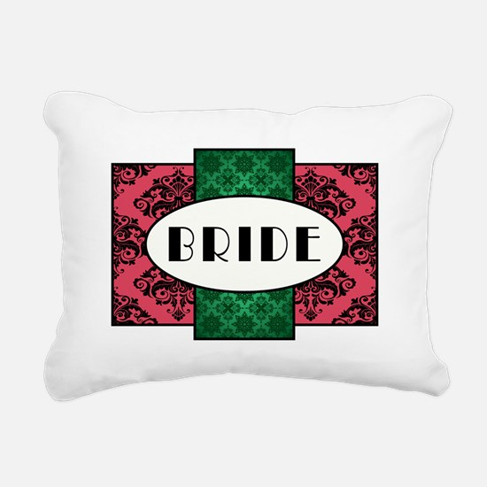 BRIDE Rectangular Canvas Pillow