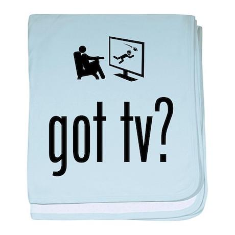 TV Watching baby blanket