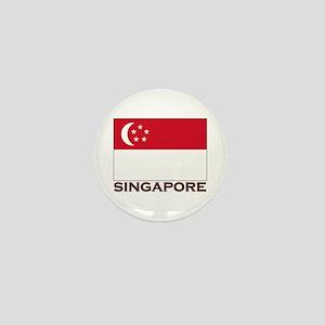 Singapore Flag Stuff Mini Button