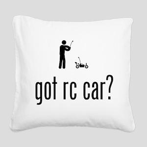 RC Car Square Canvas Pillow
