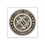 Eighty Eight Keys Square Sticker 3