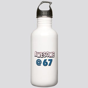 Awesome at 67 Stainless Water Bottle 1.0L
