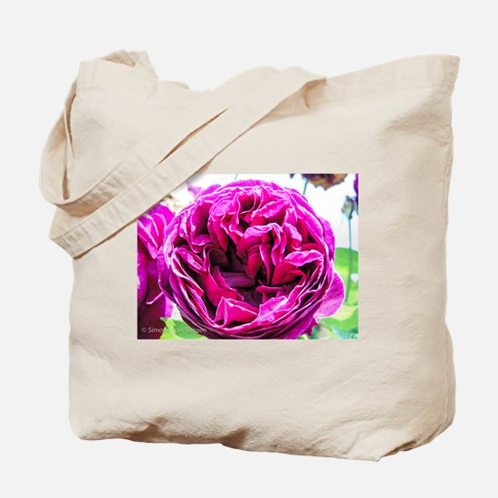Gorgeous Deep Pink Peonie Tote Bag
