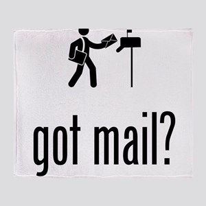 Mailman Throw Blanket