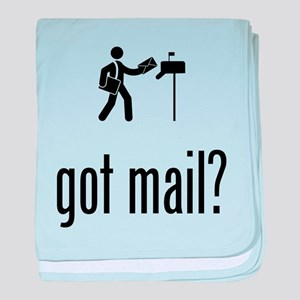 Mailman baby blanket