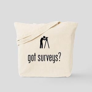 Land Surveyor Tote Bag