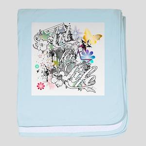 Art for Life baby blanket