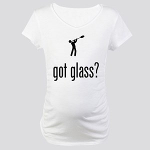 Glass Making Maternity T-Shirt
