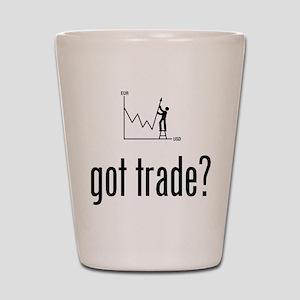 Forex / Stock Trader Shot Glass