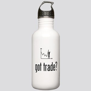 Forex / Stock Trader Stainless Water Bottle 1.0L