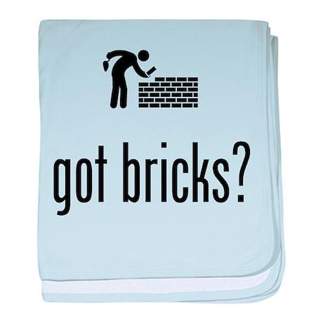 Bricklayer baby blanket
