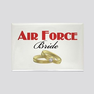 Air Force Bride Rectangle Magnet