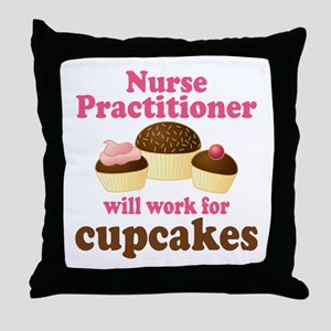Nurse Practitioner Funny Throw Pillow