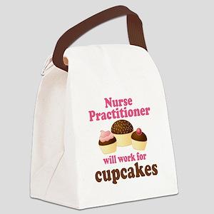 Nurse Practitioner Funny Canvas Lunch Bag