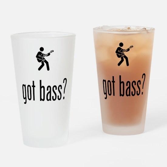 Bassist Drinking Glass