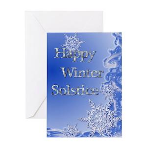 Winter solstice greeting cards cafepress m4hsunfo