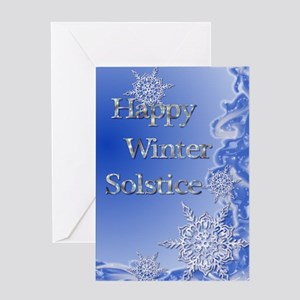 Winter solstice greeting cards cafepress happy winter solstice greeting card m4hsunfo