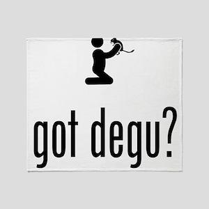 Degu Lover Throw Blanket