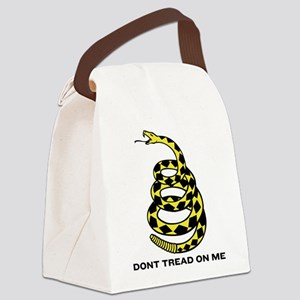 Gadsden Dont Tread On Me Canvas Lunch Bag