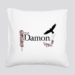 The Vampire Diaries_Team Damon Raven Square Canvas