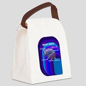 neuro nurse cell case 4 Canvas Lunch Bag