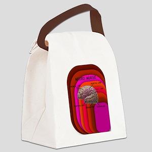 Neuro nurse cell case 3 Canvas Lunch Bag