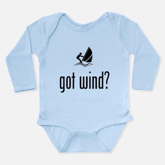 Wind Surfing Long Sleeve Infant Bodysuit