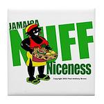 Jamaica Nuff Niceness Tile Coaster