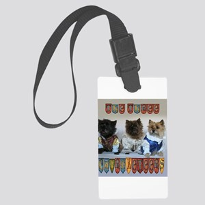 "Cairn Terrier ""Cairnkeeters"" Large Luggage Tag"