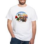 Treat - 4 Cavaliers White T-Shirt