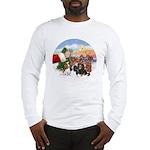 Treat - 4 Cavaliers Long Sleeve T-Shirt