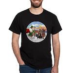 Treat - 4 Cavaliers Dark T-Shirt