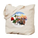 Treat - 4 Cavaliers Tote Bag