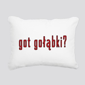 got golabki? Rectangular Canvas Pillow