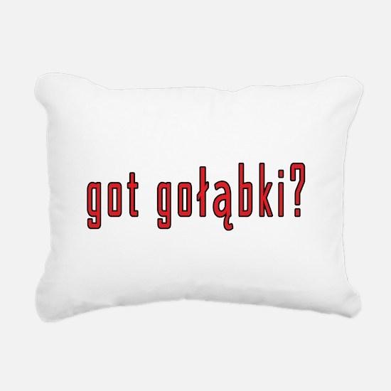 got golabki? Rectangular Canvas Pillow