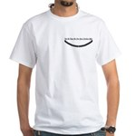 Pearl Necklace Parody White T-Shirt