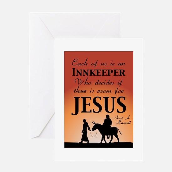 Innkeeper Greeting Card