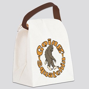 Bigfoot Squatchin Canvas Lunch Bag